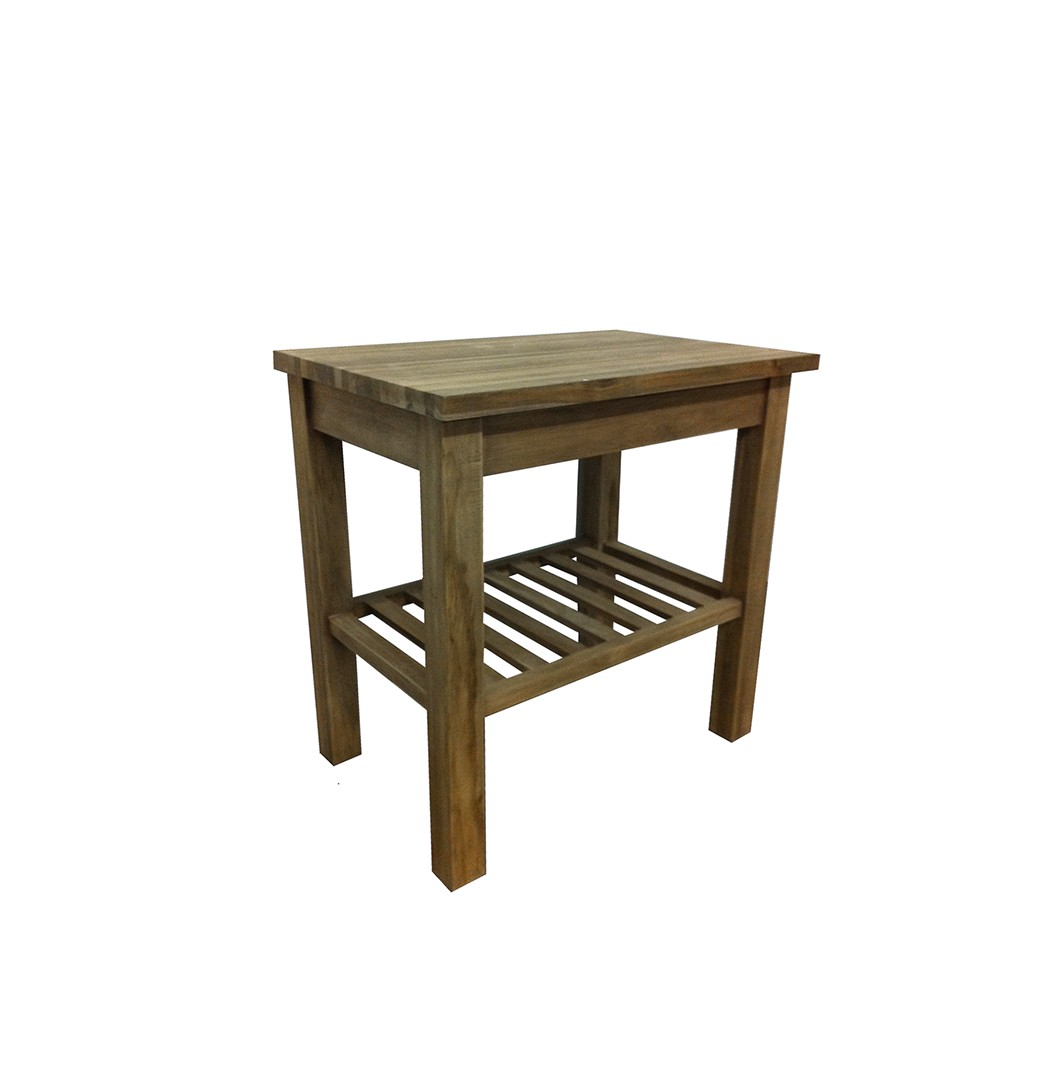 The 'Kerembong' Reclaimed Teak Washstand - 3 sizes available.