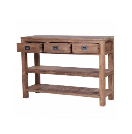The 'Culuk' Classic Reclaimed Teak Washstand - 2 sizes available.