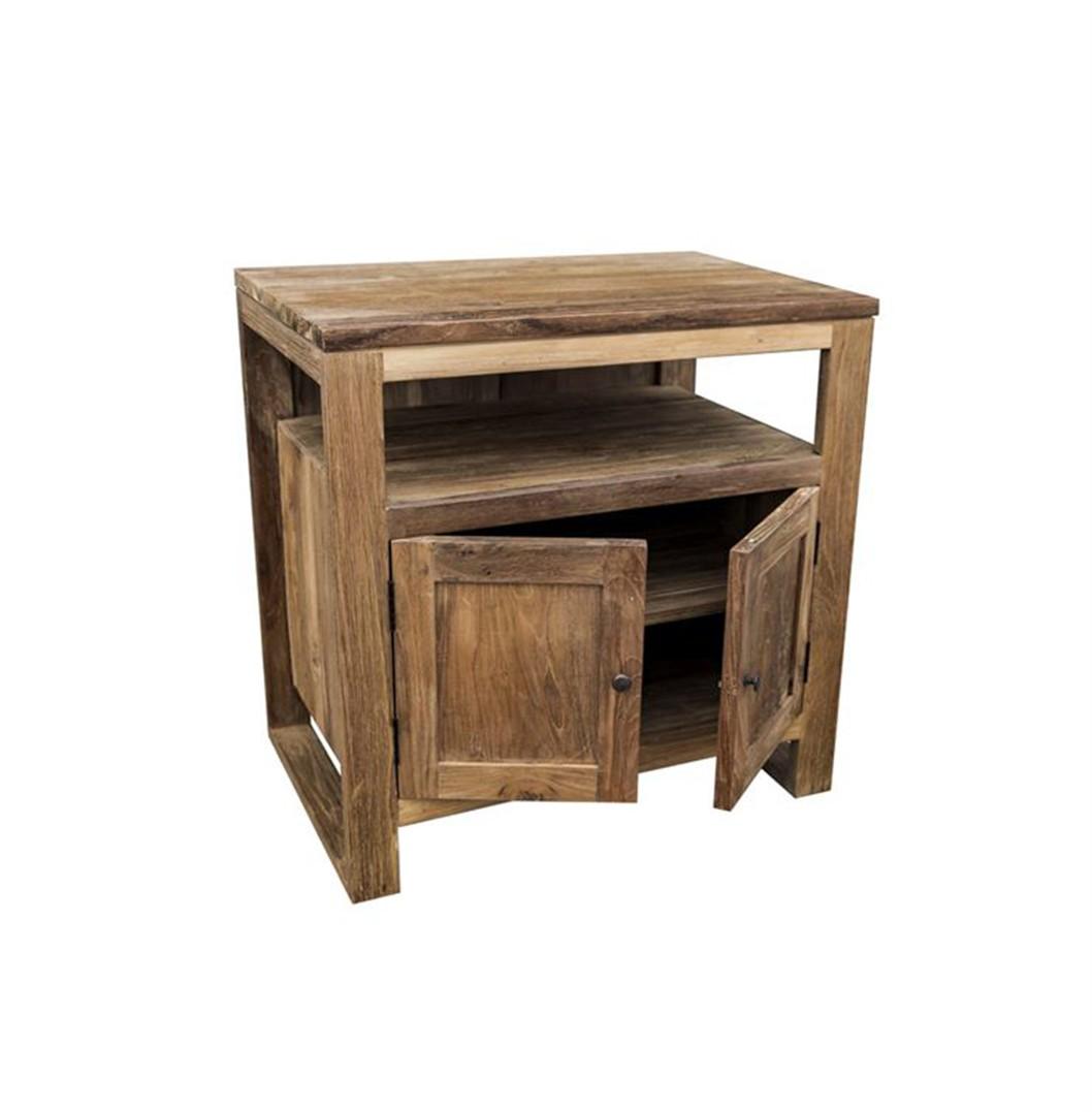The 'Susu' Reclaimed Teak Washstand with Cupboard