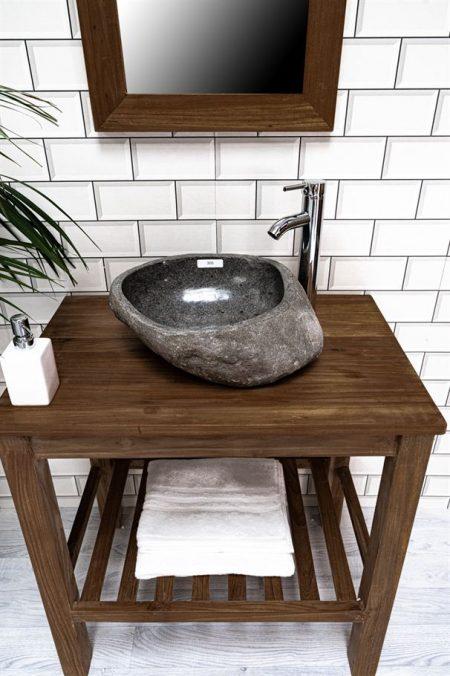 Natural Stone Basin No. 305. L- 43cm, W- 35cm, H- 15cm